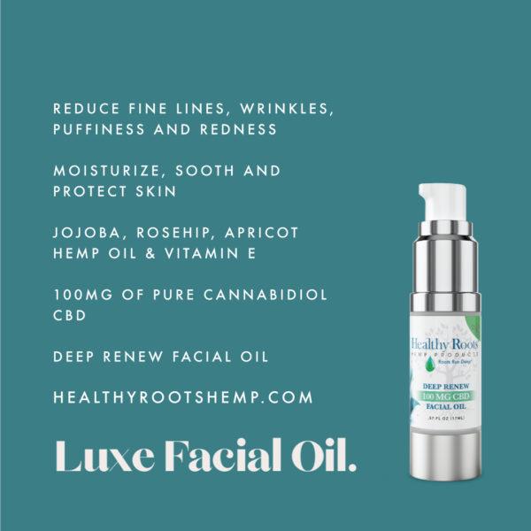 Facial Oil 100 mg cbd facial oil