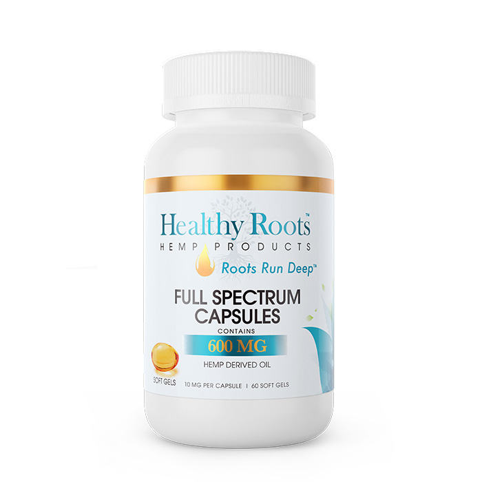 Healthy Roots CBD Hemp Gel Capsules