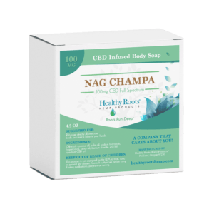 Healthy Roots Hemp CBD Soap Bar 100mg