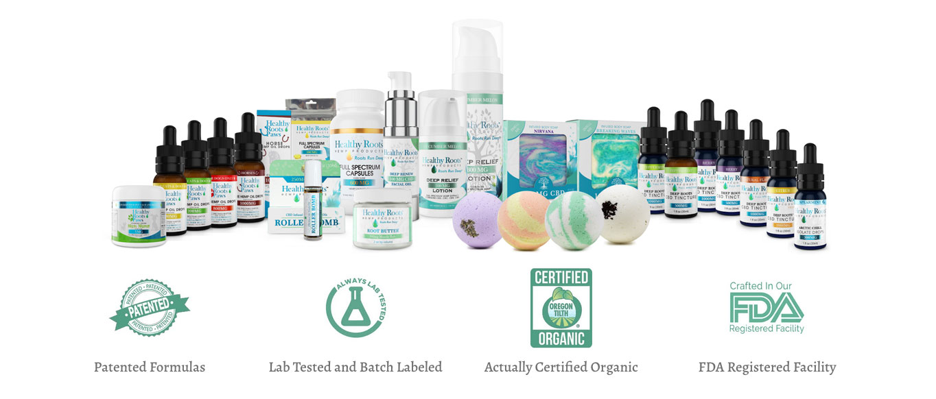 Healthy Roots Quality CBD Products At Wholesale