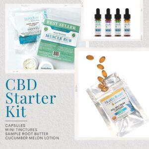 CBD Starter Kit healthy roots hemp